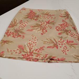 3 for$25 Jones New York Signature size 4 floral skirt